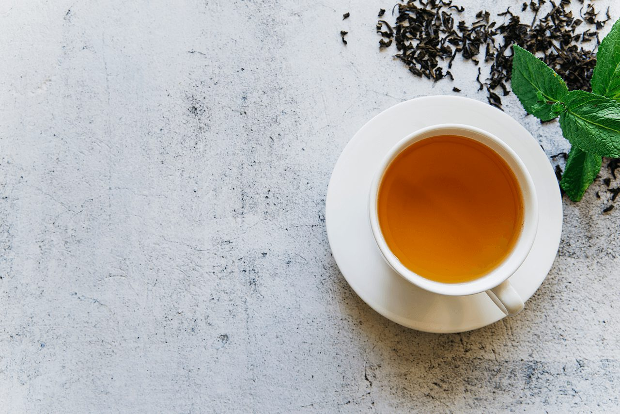 Chá para limpar a Aura