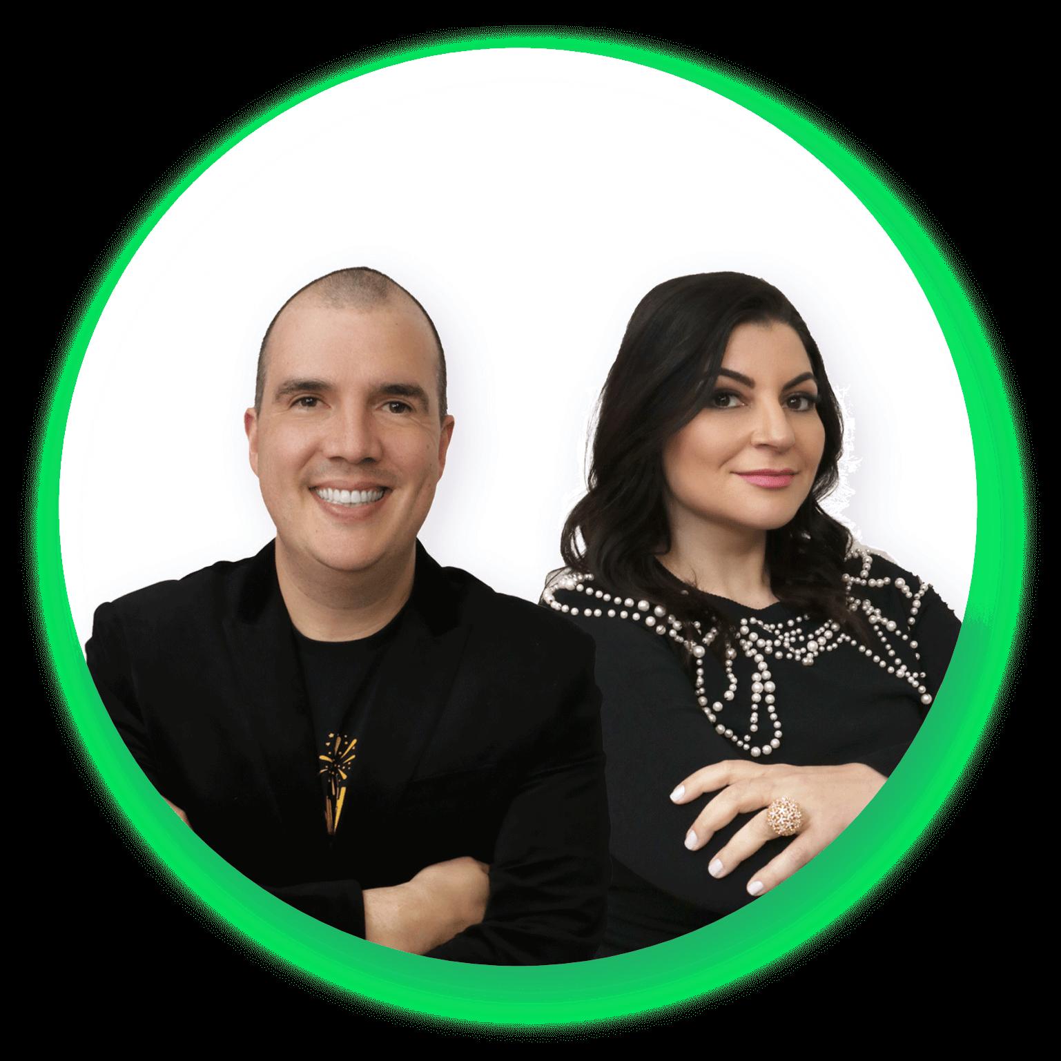 Criadores da Maratona da Riqueza - Bruno Gimenes e Patrícia Cândido