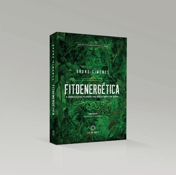 Livro comemorativo aos 15 anos da Fitoenergética lançado pela Luz da Serra Editora.